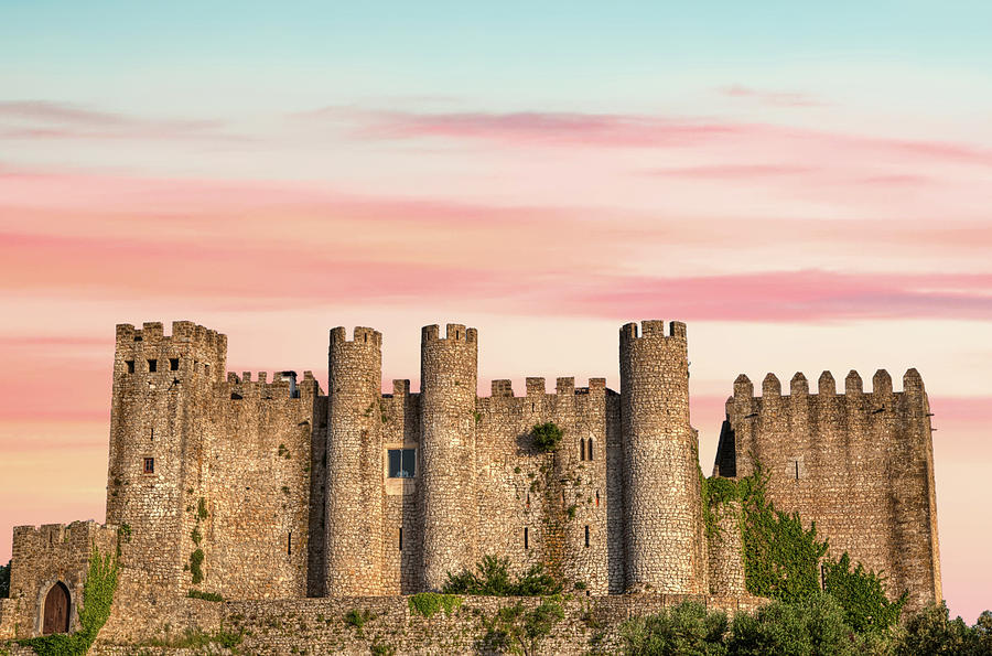 Medieval Castle of Obidos by David Letts