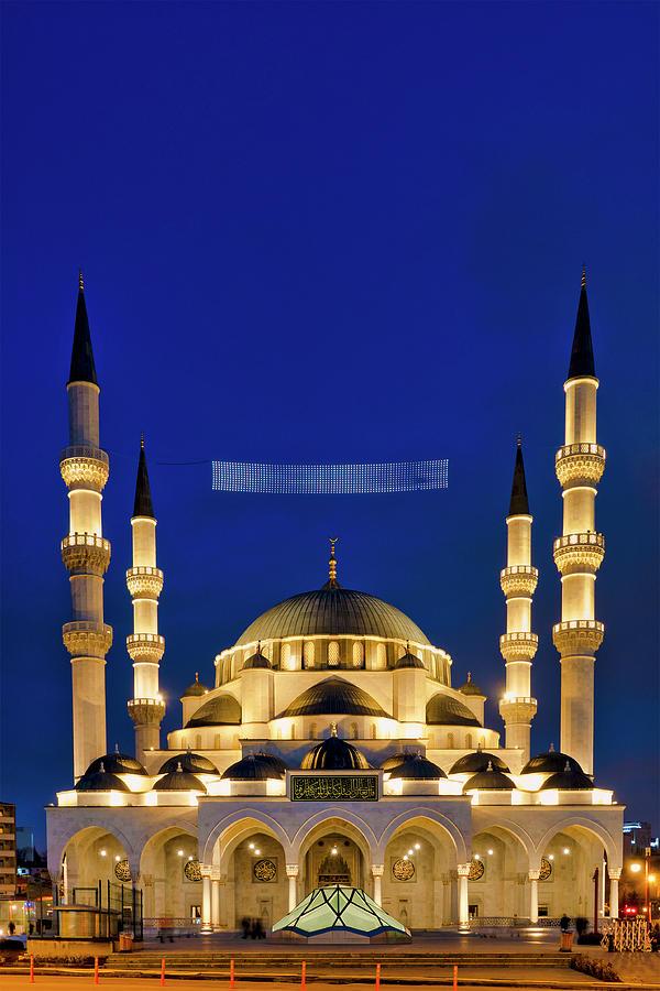 Melike Hatun Mosque by Fabrizio Troiani