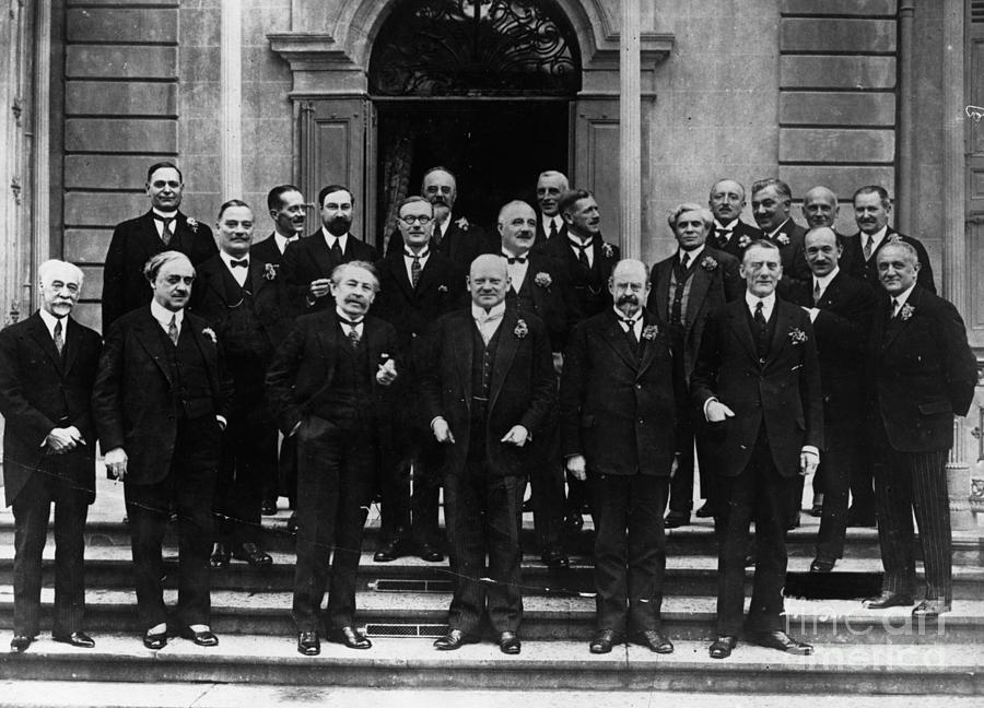 Members Of The League Of Nations Photograph by Bettmann