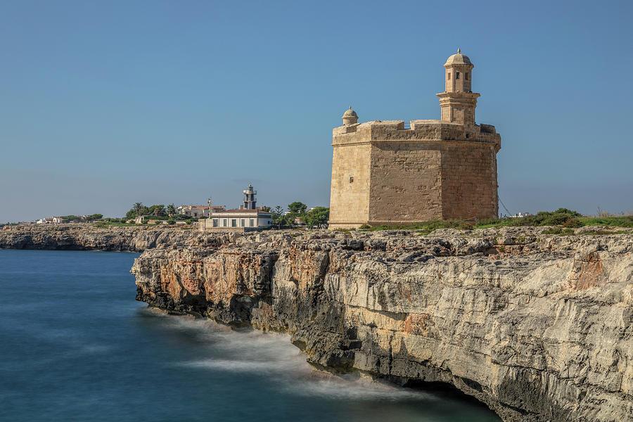 Lighthouse Photograph - Menorca - Spain by Joana Kruse