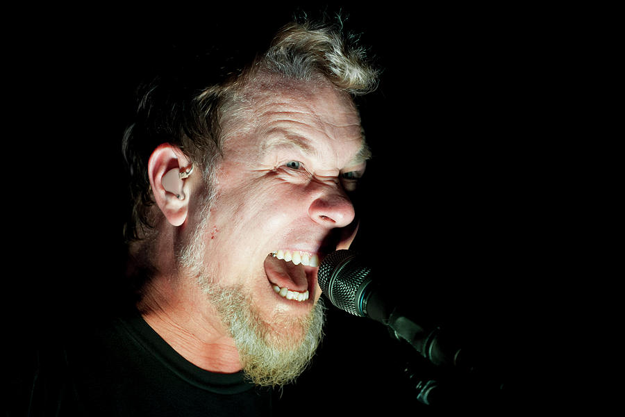 Metallica Perform At The O2 London Photograph by Neil Lupin