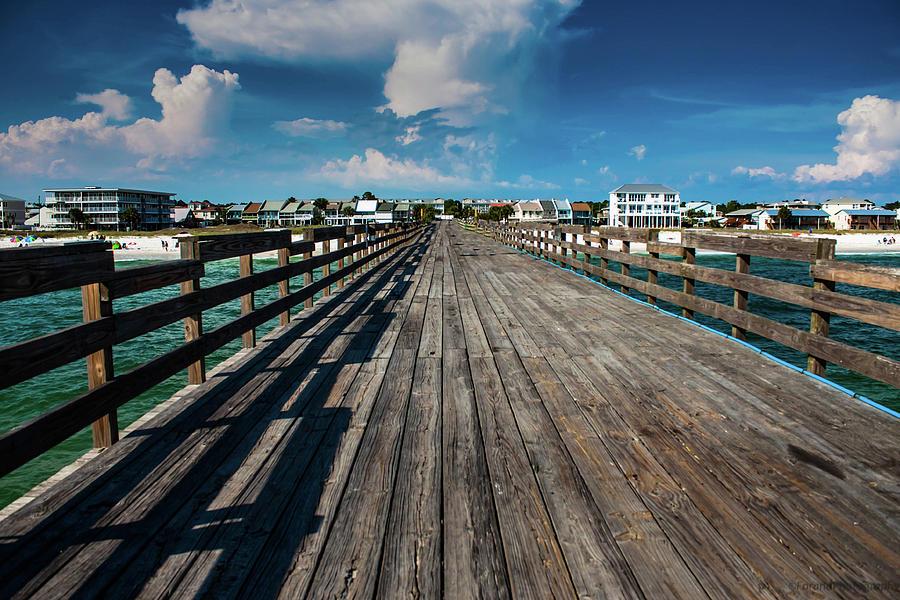 Mexico Beach Pier by Debra Forand