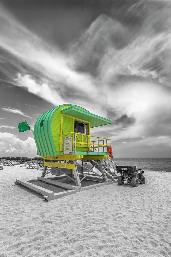 Florida Photograph - Miami Beach Florida Flair by Melanie Viola