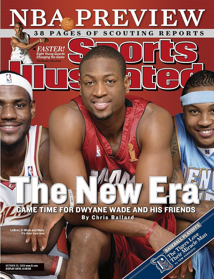 Miami Heat Dwyane Wade Sports Illustrated Cover Photograph by Sports Illustrated