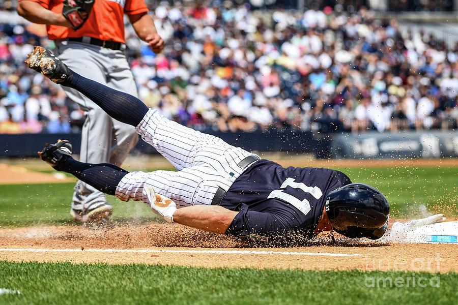 Miami Marlins V New York Yankees 1 Photograph by Mark Brown