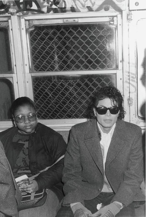 Michael Jackson In Bad Photograph by Hulton Archive