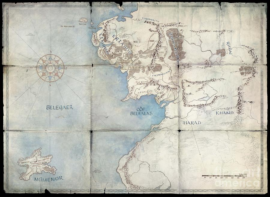 Middle-earth by Maps of Middle-Earth