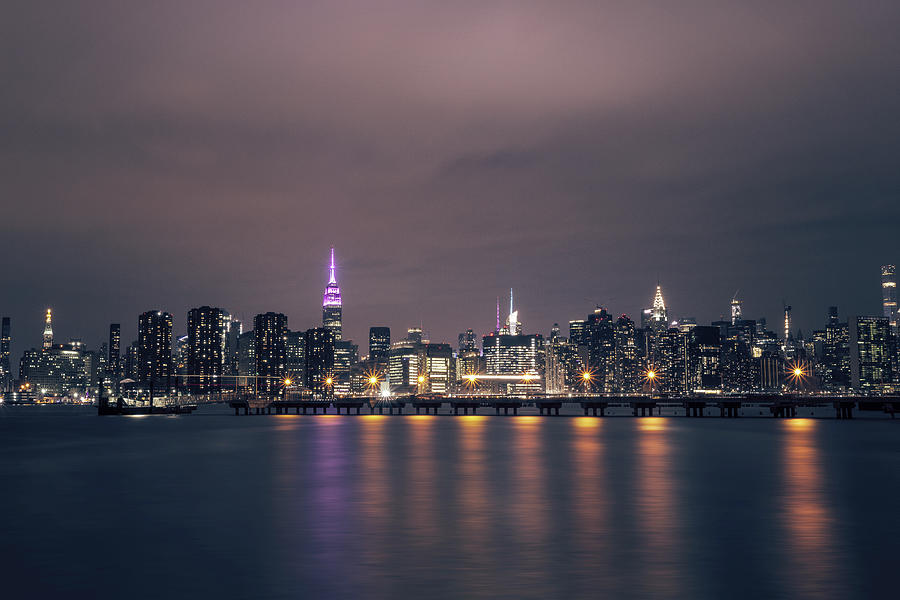 Midtown Photograph - Midtown Manhattan by Lorrie Joaus