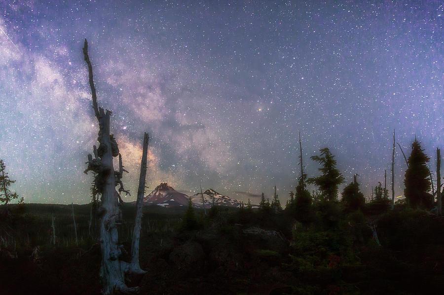 McKenzie Pass Milky Way by Cat Connor