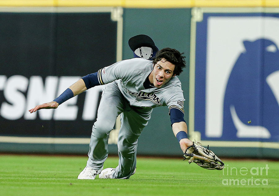 Milwaukee Brewers V Houston Astros 1 Photograph by Bob Levey