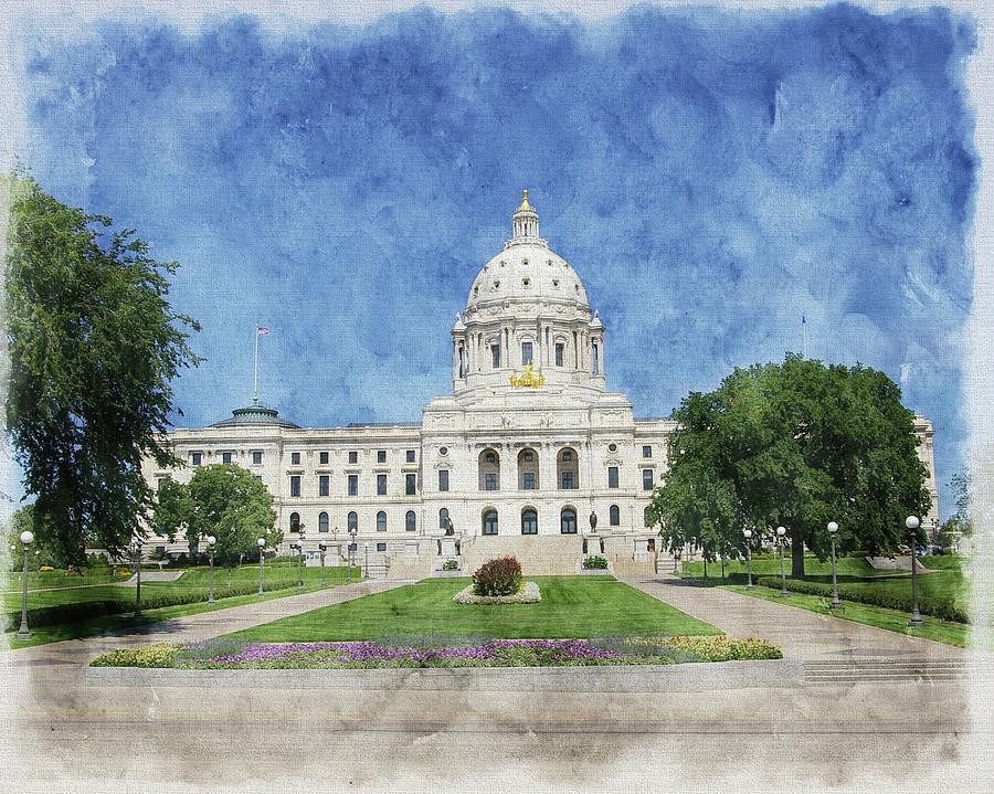 Minnesota State Capitol by Tom Reynen