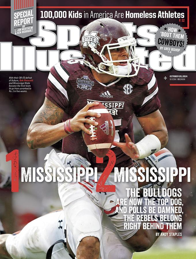 1 Mississippi, 2 Mississippi The Bulldogs Are Now The Top Sports Illustrated Cover Photograph by Sports Illustrated