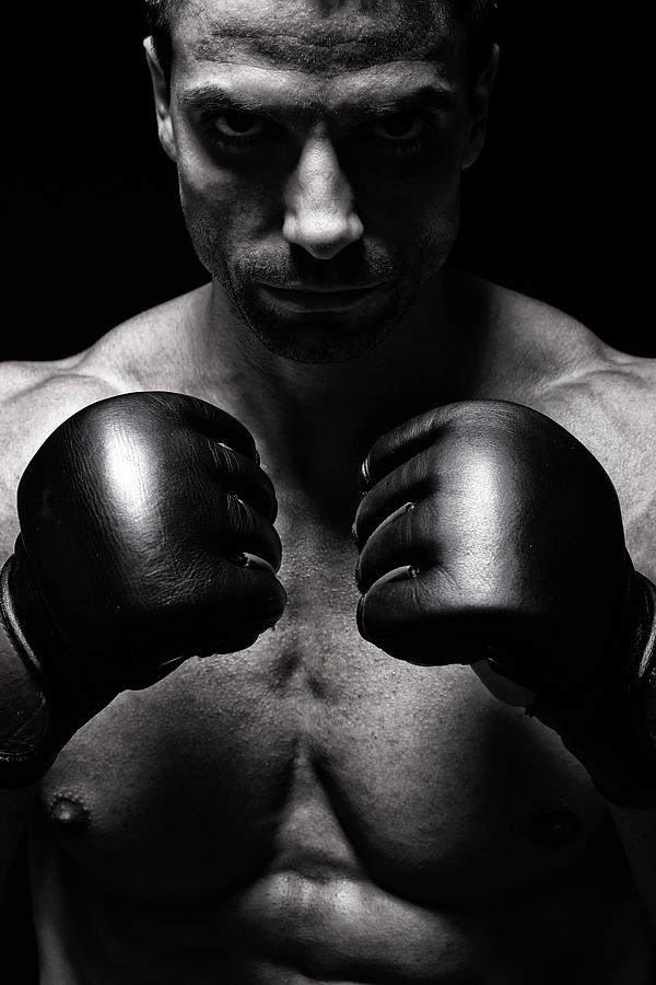 Mma Fighter Photograph by Vuk8691