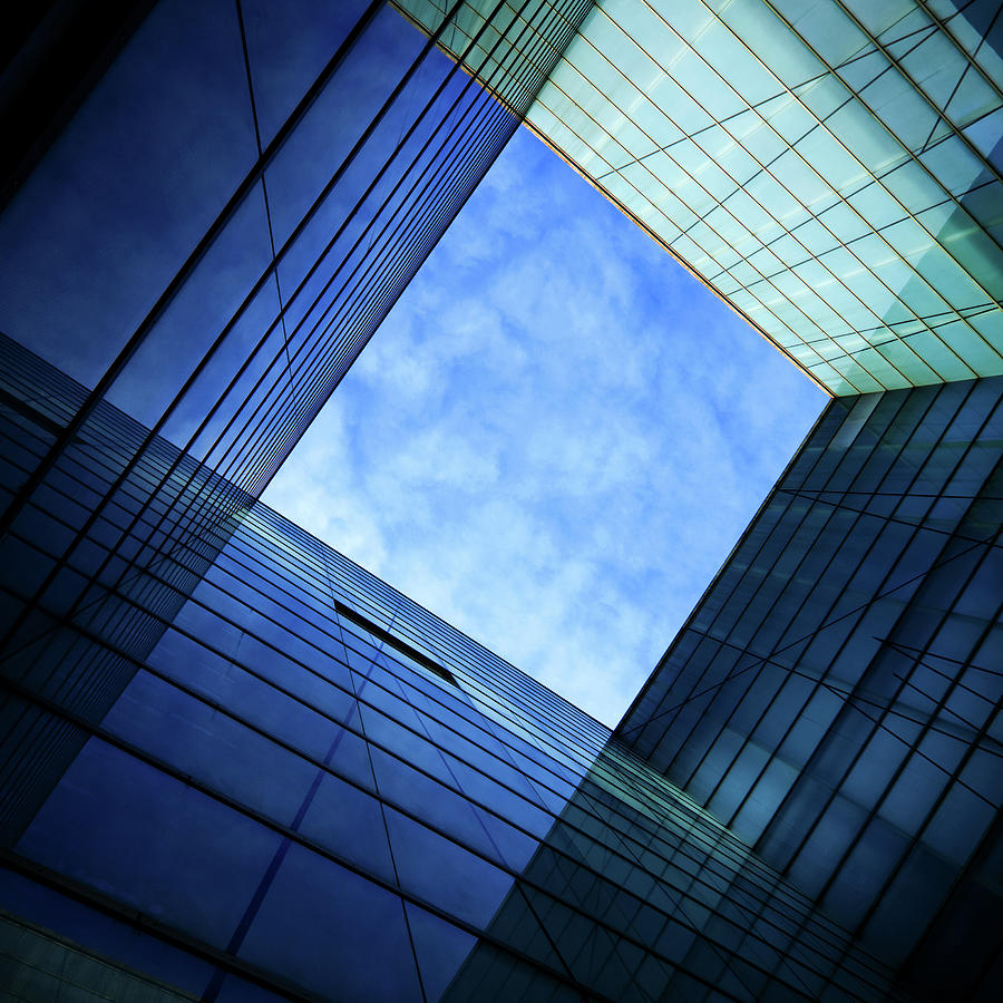 Modern Glass Architecture Photograph by Nikada