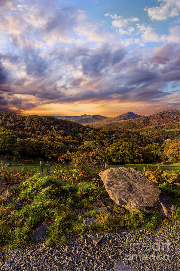 Moel Siabod by Ian Mitchell