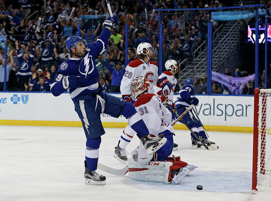 Montreal Canadiens V Tampa Bay Photograph by Mike Carlson