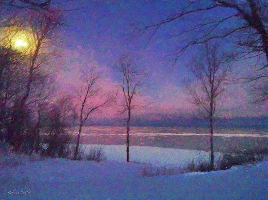 Moonset by Rebecca Samler