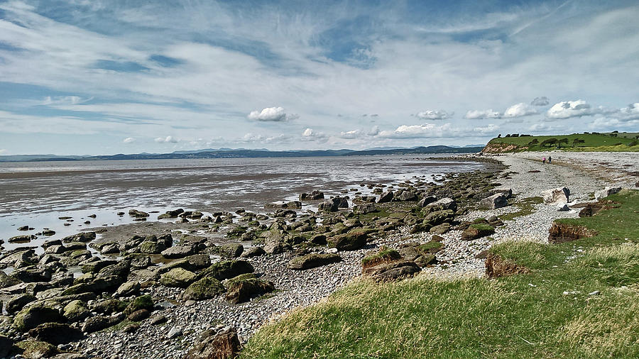 MORECAMBE. Hest Bank. The Shoreline. by Lachlan Main