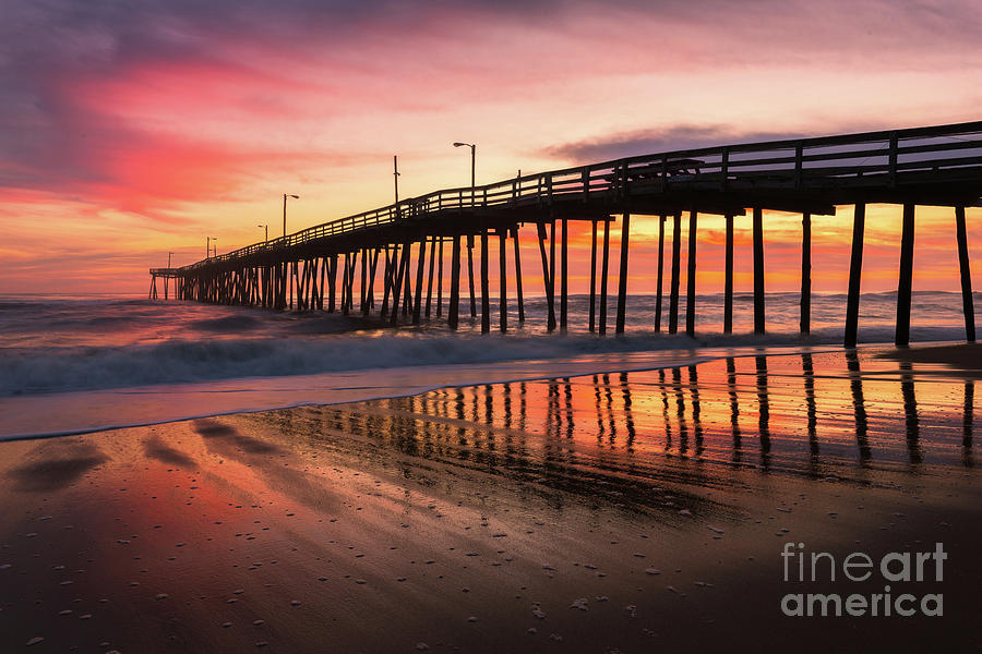 Morning at the Pier by Anthony Heflin