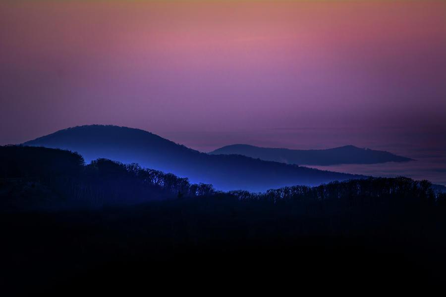 Morning Light in Shenandoah  by William Christiansen