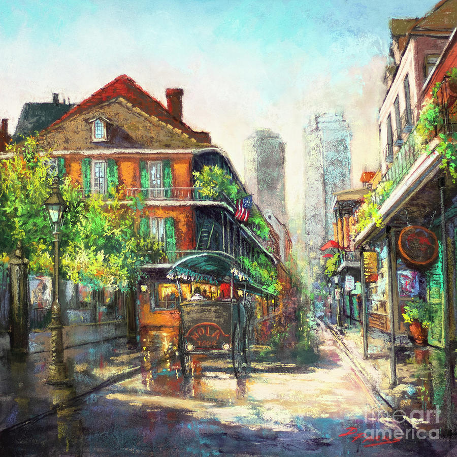 Morning on Royal Street by Dianne Parks