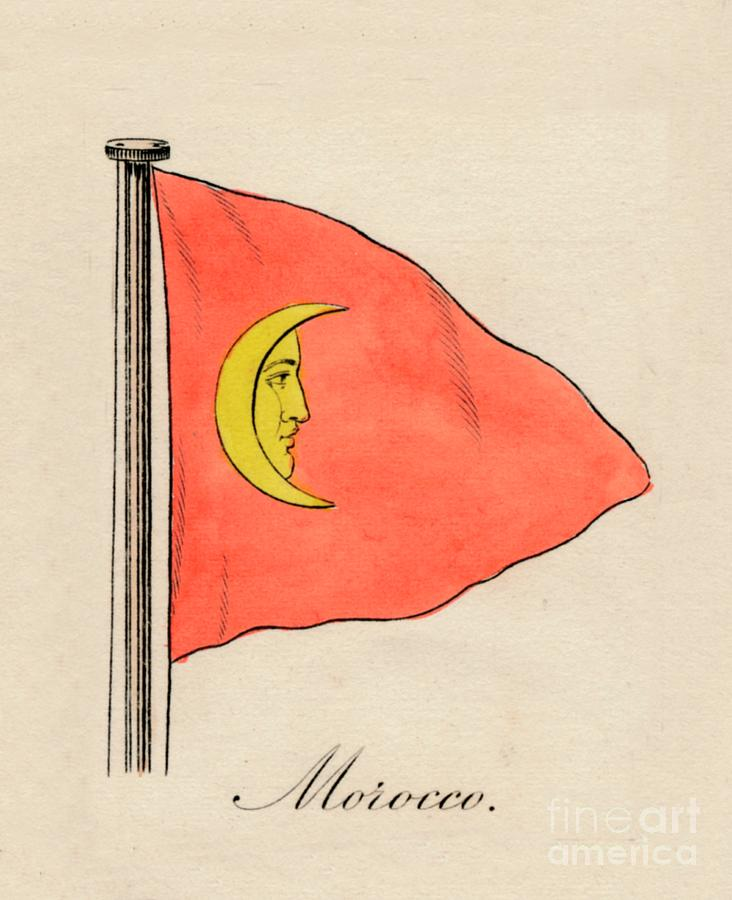 Morocco, 1838 Drawing by Print Collector