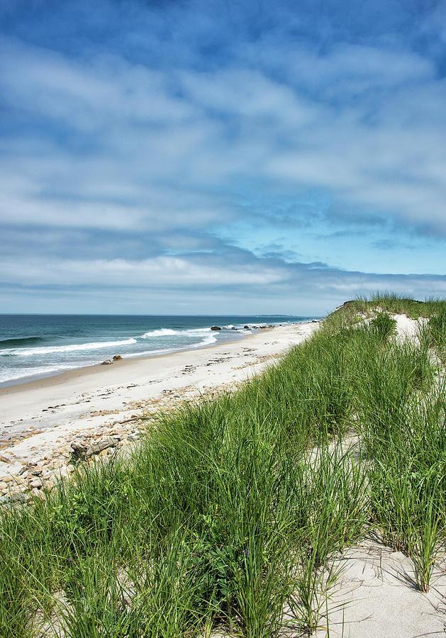 Martha's Vineyard Photograph - Moshup Beach On Marthas Vineyard - Massachusetts by Brendan Reals