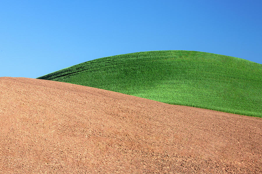 Hills Photograph - Layers Of Mounds by Todd Klassy