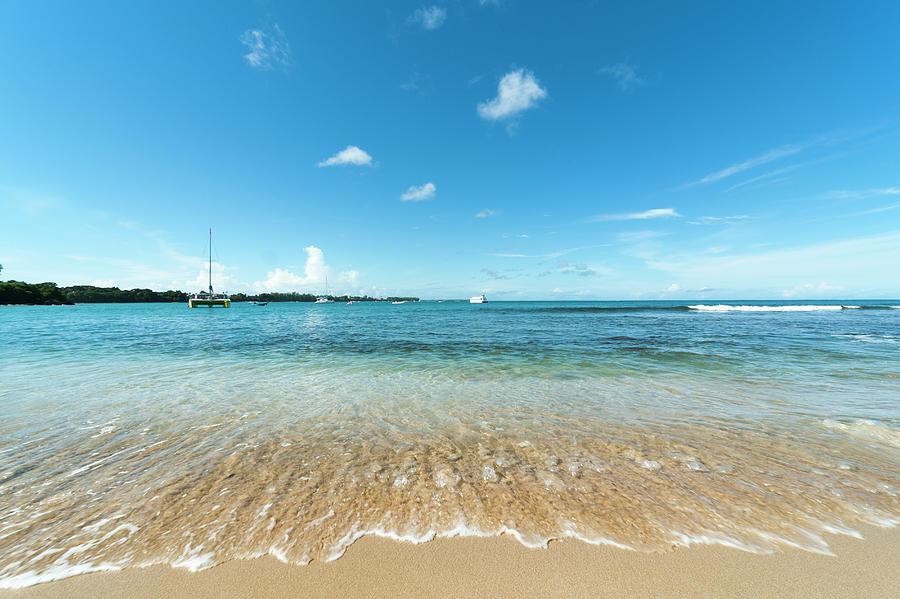 Tranquility Photograph - Mt. Irvine Bay, Tobago by John Harper