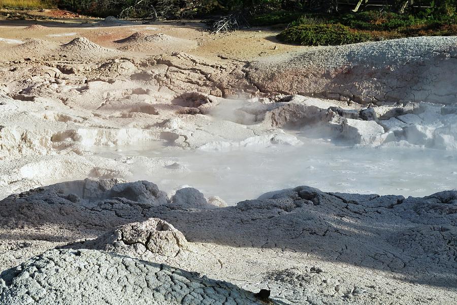 Mud Pots At Yellowstone Photograph
