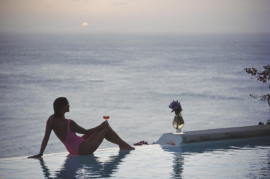 Mustique Tranquility Photograph by Slim Aarons