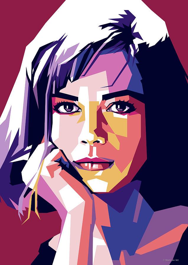 Natalie Digital Art - Natalie Wood by Stars on Art