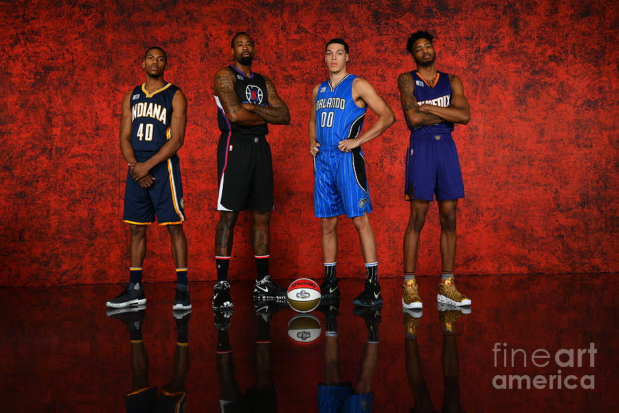 Nba All-star Portraits 2017 Photograph by Jesse D. Garrabrant