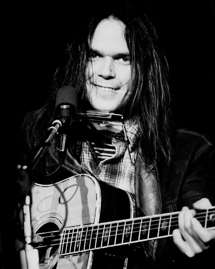San Francisco Photograph - Neil Young Live by Larry Hulst
