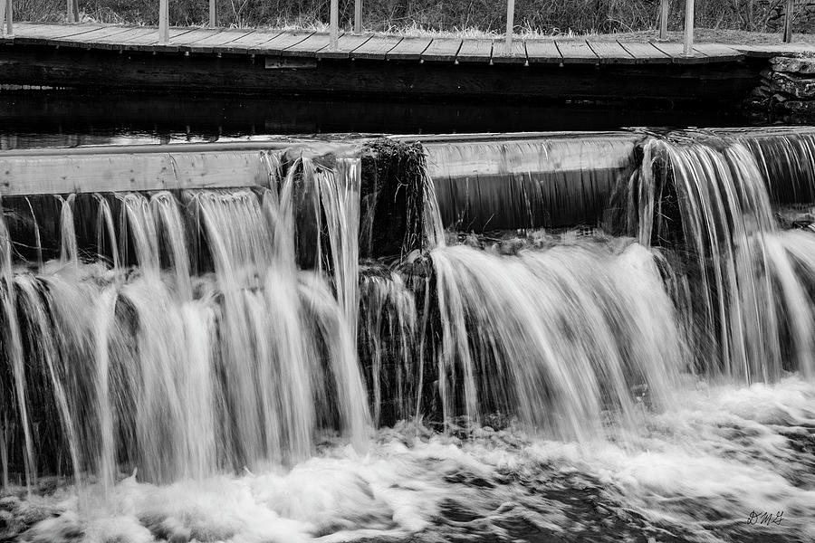 Nemasket River III BW by David Gordon