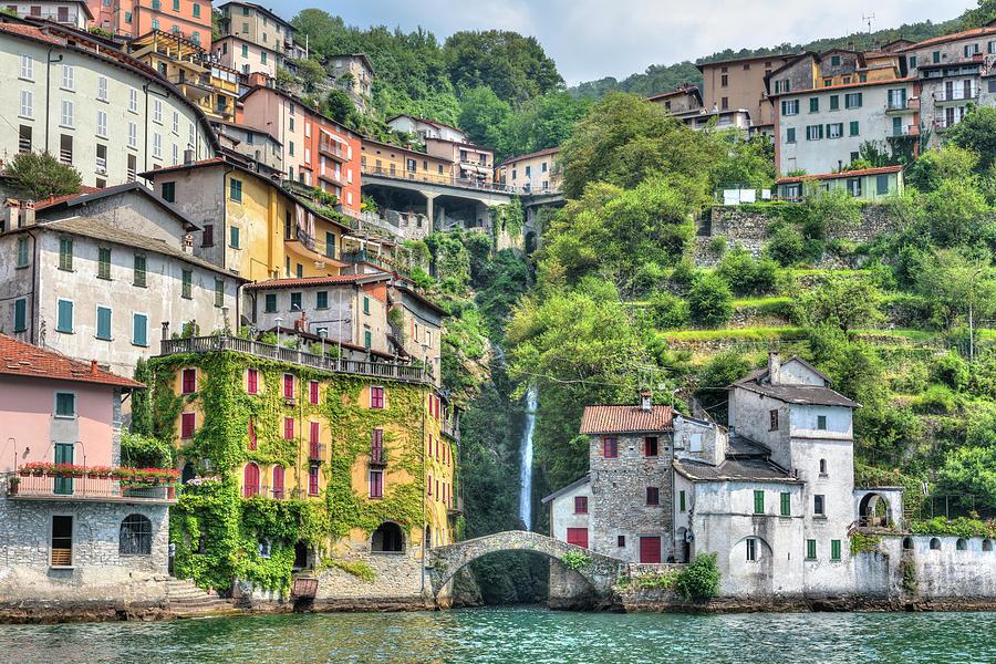 Nesso Photograph - Nesso - Italy 1 by Joana Kruse