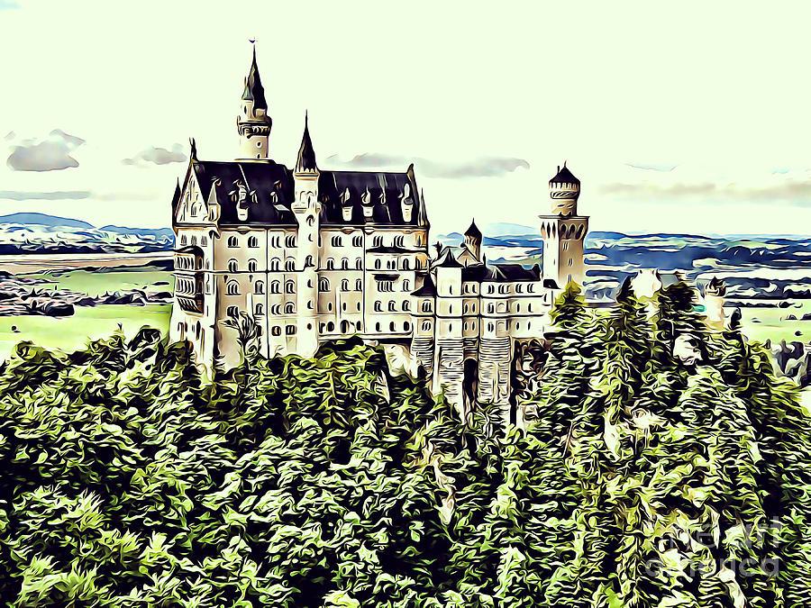 Neuschwanstein Castle by Jurgen Huibers