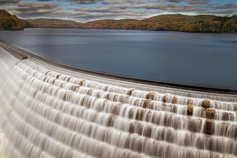 Croton Dam Photograph - New Croton Dam  by Susan Candelario
