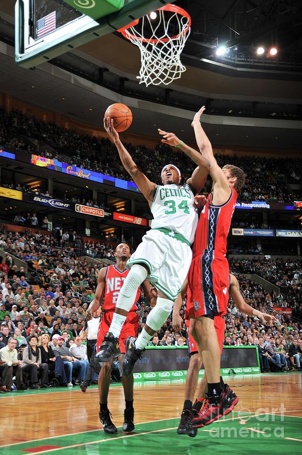 New Jersey Nets V Boston Celtics Photograph by Brian Babineau