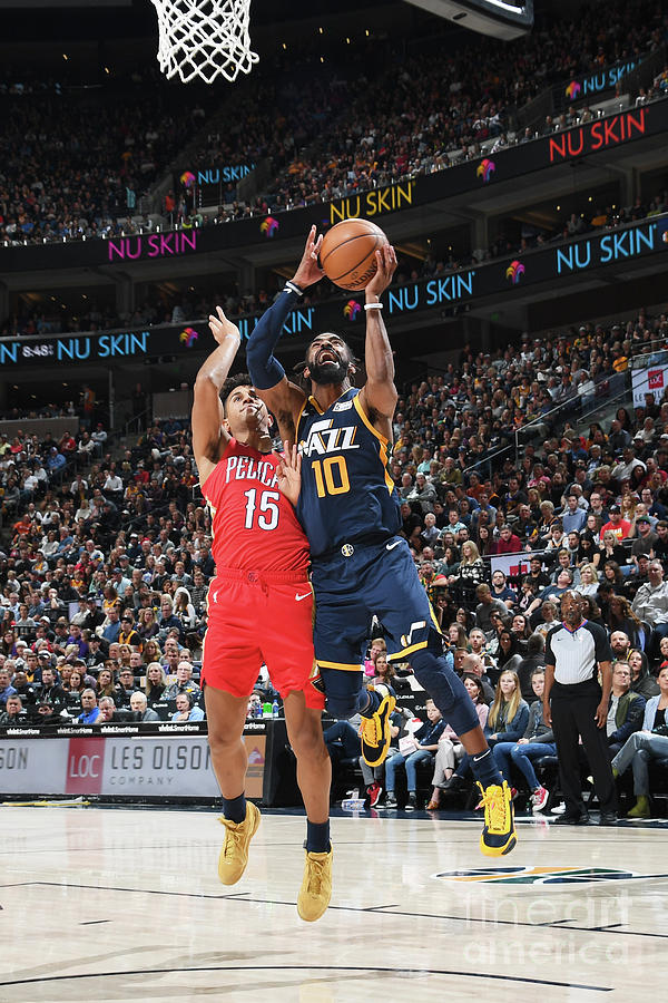 New Orleans Pelicans V Utah Jazz Photograph by Noah Graham