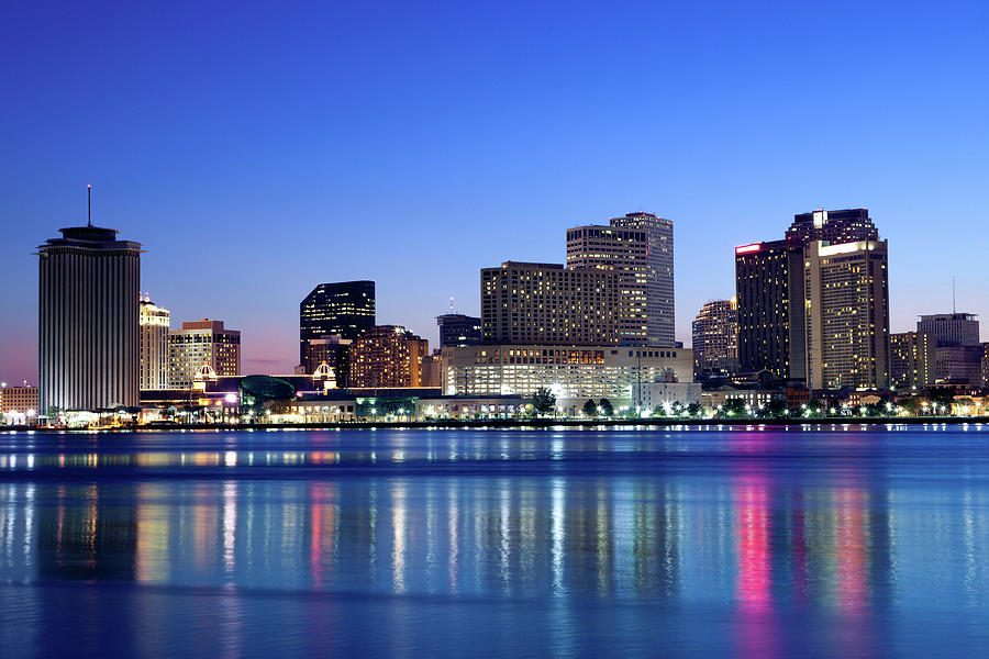New Orleans Skyline Photograph by Lightkey