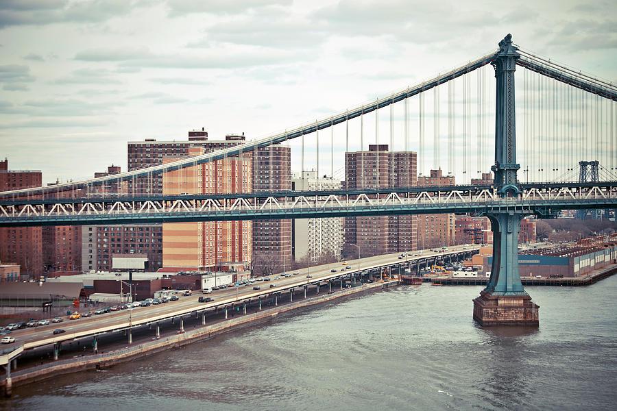 New York Buildings Photograph by Peeterv
