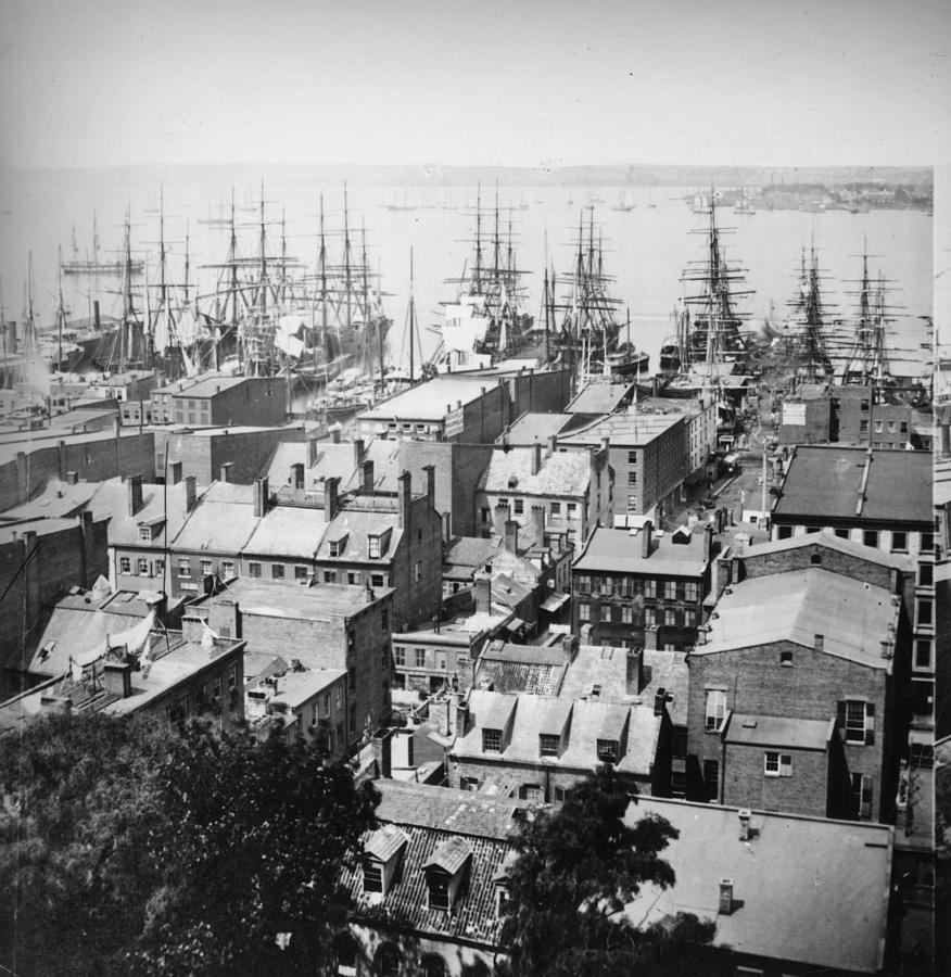 New York Harbour Photograph by William England