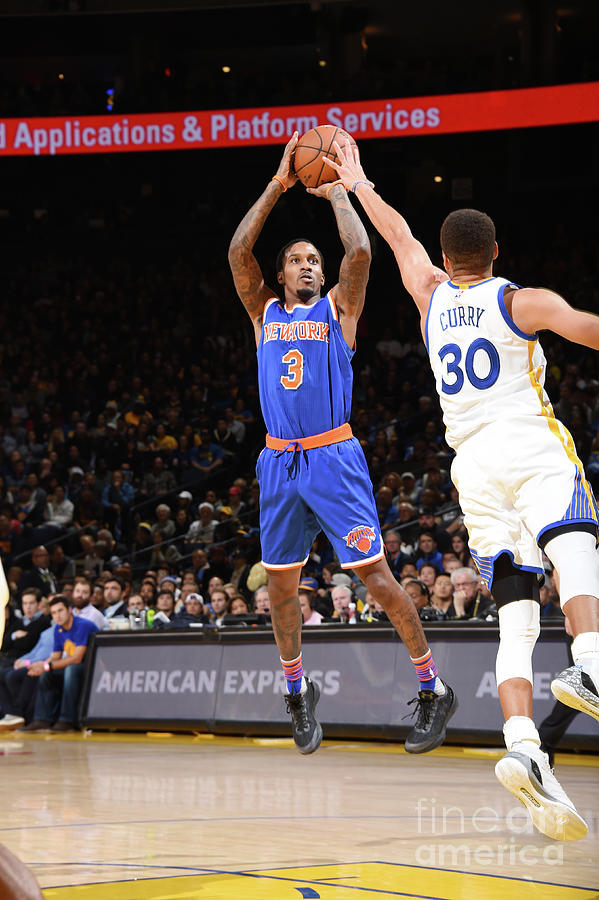 New York Knicks V Golden State Warriors Photograph by Andrew D. Bernstein