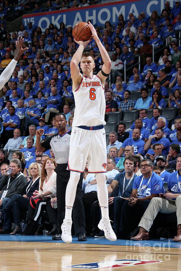New York Knicks V Oklahoma City Thunder Photograph by Layne Murdoch