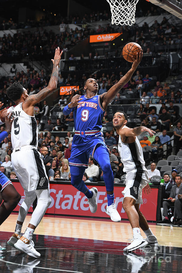 New York Knicks V San Antonio Spurs Photograph by Garrett Ellwood