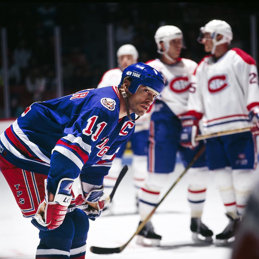 New York Rangers V Montreal Canadiens Photograph by Denis Brodeur
