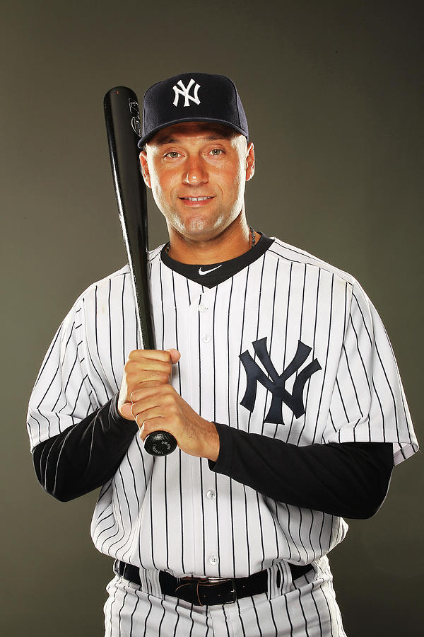 New York Yankees Photo Day 1 Photograph by Al Bello
