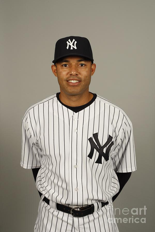 New York Yankees Photo Day 1 Photograph by Robert Rogers