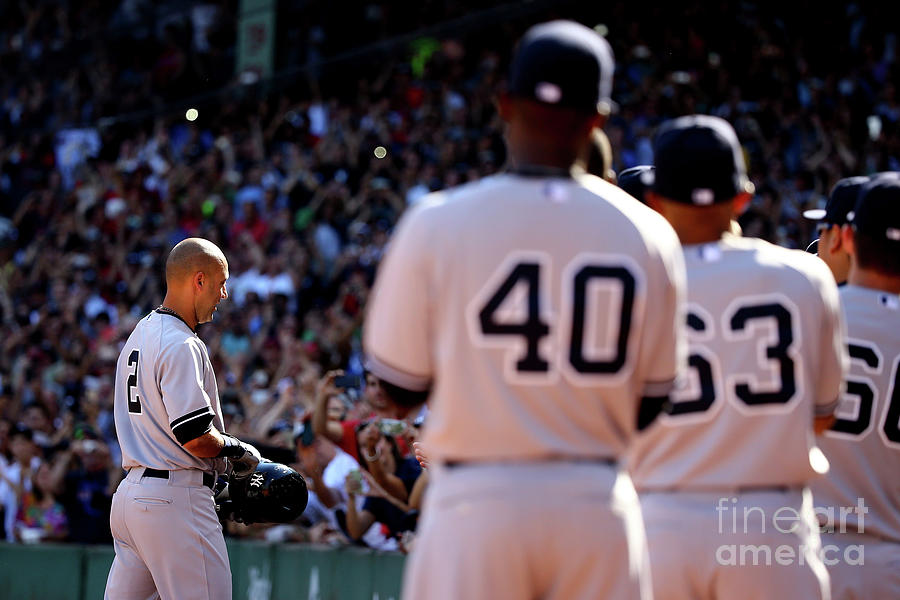 New York Yankees V Boston Red Sox Photograph by Al Bello